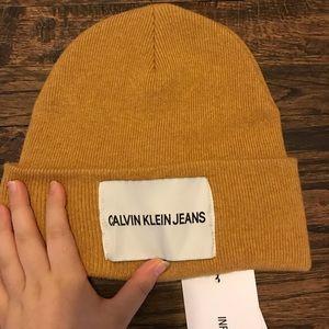 39080c5278c Calvin Klein Accessories - Calvin Klein Beanie